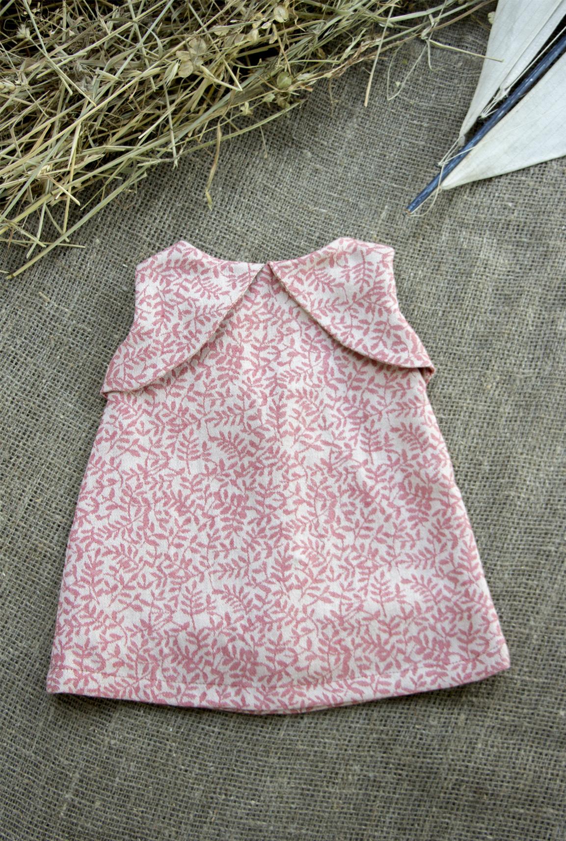Pink Linen Mia dress